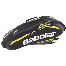 BABOLAT RH X 6 TEAM LINE BLACK YELLOW, mailalaukku