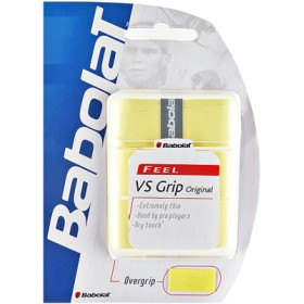 BABOLAT OVERGRIP YELLOW/3pcs, maila grippi