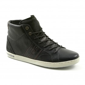 BJÖRN BORG MENS GEOFF MID Tmb BLACK-DARK BROWN, VAPAA-AJAN TENNARI
