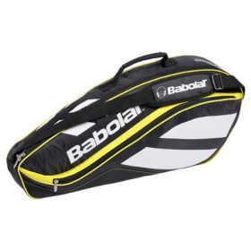 Babolat RHX 3 CLUB LINE Black Yellow, mailalaukku