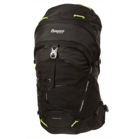 BERGANS OF NORWAY RONDANDE 30L BLACK/NEON GREEN, reppu