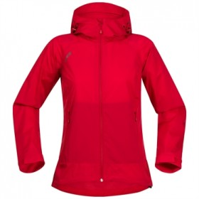 BERGANS OF NORWAY MICROLIGHT LADY JKT RED, naisten takki
