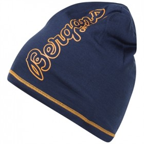 BERGANS OF NORWAY BLOOM WOOL BEANIE MID NBLUE/DES SU OS, pipo