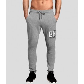 Björn Borg Levin Sweat pants Light Grey Melange, vaaleanharmaa