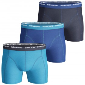 Björn Borg 3-Pack Seasonal Basic Shorts Hawaiian Ocean