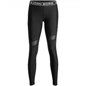 Björn Borg Peace Tights Caviar Black, naisten treenihousut
