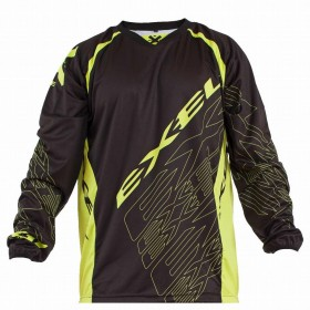 EXEL G1 GOALIE JERSEY #1, black/yellow