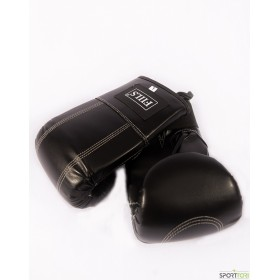 FIILS BOXING SACK GLOVES PU Black, säkkihanskat