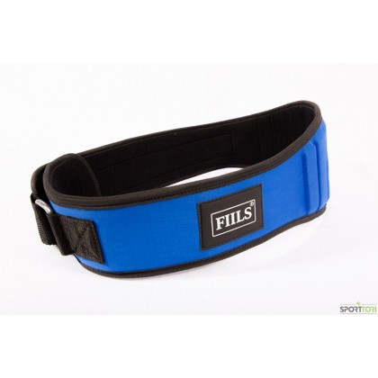 FIILS NEOPRENE EXTRA PANELS LIFTING BELT Blue-Black, treenivyö