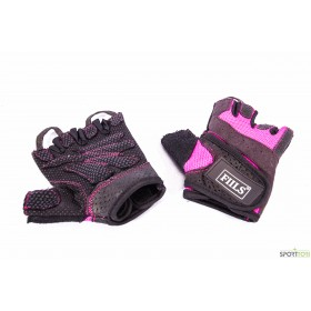 FIILS WMNS BASIC GLOVES Pink-Black, salihanskat