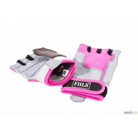FIILS WMNS FITNESS GLOVES Pink-Grey