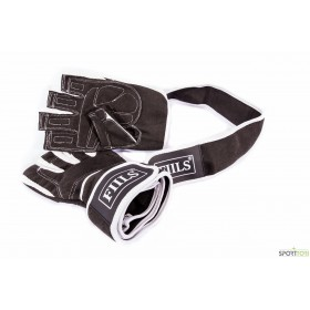 FIILS MENS WL GYM GLOVES WITH WRIST WRAP, salihanskat rannetuella
