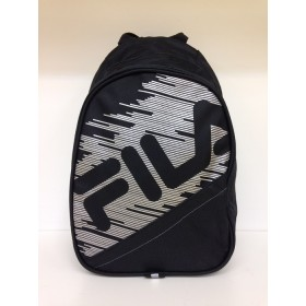 FILA CUNNINGHAM SMALL BACKPACK Black-Silver, reppu