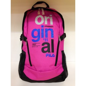 FILA TEMPA MEDIUM BACKPACK Pink-Black, reppu
