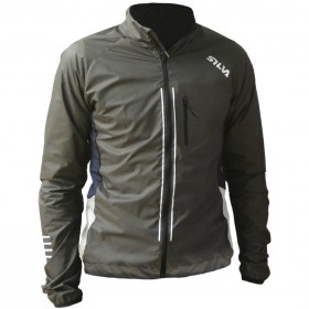 SILVA PERFORM RUN VIS JACKET GREY