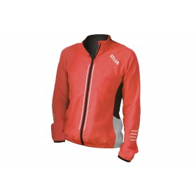 SILVA PERFORM RUN VIS JACKET ORANGE