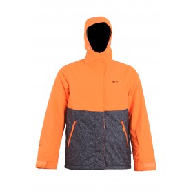 2117 OF SWEDEN RÖSSÖN MENS LIGHT PADDED SKI JACKET, signal orange