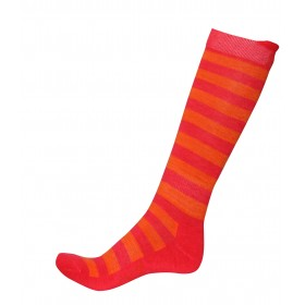 2117 OF SWEDEN SINGI WOMENS SKI SOCK, diva pink/signal orange