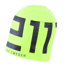2117 SWEDEN MENS ELASTIC CAP, signal yellow