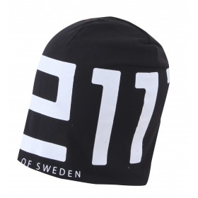 2117 OF SWEDEN SAREK MENS ELASTIC CAP, black