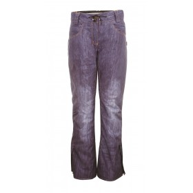 2117 OF SWEDEN BRÄCKE WOMENS LIGHT PADDED SKI PANTS, naisten kevyttoppa lasketteluhousu denim AOP