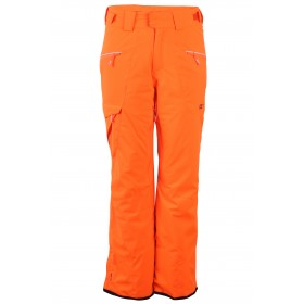 2117 OF SWEDEN TIMMERSDALA MENS LIGHT PADDED SKI PANTS, signal orange