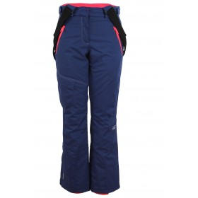 2117 OF SWEDEN ÅMOT WOMENS LIGHT PADDED SKI PANTS, naisten kevyttoppa lasketteluhousu sininen