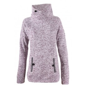 2117 OF SWEDEN LESSEBO W WAWE FLEECE JACKET, tumma laventeli