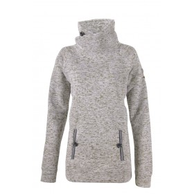 2117 OF SWEDEN LESSEBO W WAWE FLEECE JACKET, tumman harmaa