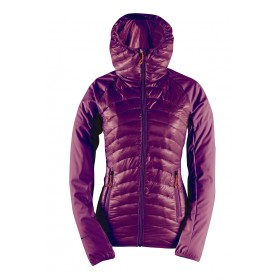 2117 OF SWEDEN SKULTORP W SPORTY HYBR JACKET, dk plum