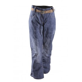 2117 OF SWEDEN SIRGES W LIGHT PAD SKI PANTS DENIM PRINT