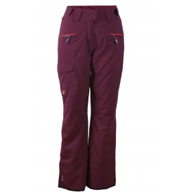 2117 OF SWEDEN TIMMERSDALA WOMENS LIGHT PADDED SKI PANTS, dk lavender
