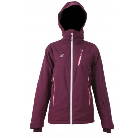 2117 OF SWEDEN TIMMERSDALA WOMENS LIGHT PADDED SKI JACKET, naisten kevyttoppa laskettelutakki t.laventeli