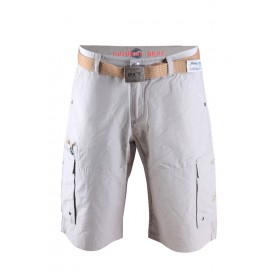 2117 OF SWEDEN ÅRNÄS M STREET SHORTS INC BELT GREY, miesten shortsit