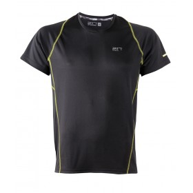 2117 OF SWEDEN TUN M RUN TOP SS BLACK, miesten paita