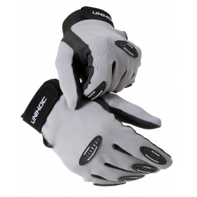 UNIHOC GOALIE GLOVES, graphite