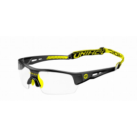 UNIHOC EYEWEAR VICTORY SENIOR, black/neon yellow