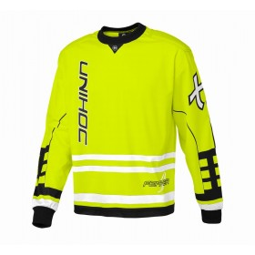 UNIHOC GOALIE SWEATER FEATER, neon yellow