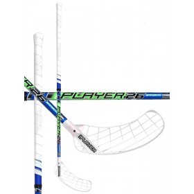 UNIHOC STICK REPLAYER BAMBOO 26,neon green/blue