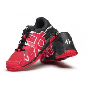 UNIHOC SHOE U3 SPEED LADY, neonred/black
