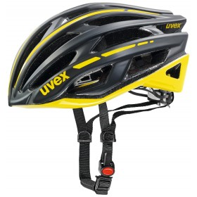 UVEX RACE 5, black mat-yellow