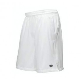 Wilson M Rush 10 Tennis Woven Short White, miesten shortsit
