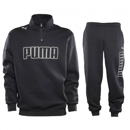 Puma Sweeper Suit Black-Black