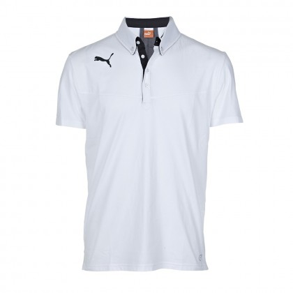Puma King Polo White
