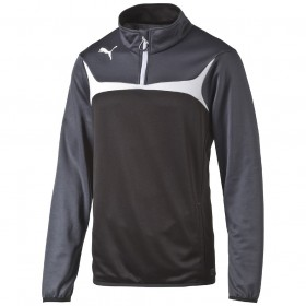 Puma Esito 3 1/4 Zip Training Top Black