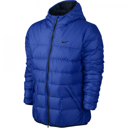 NIKE MENS ALLIANCE 550 JCKT HD LT Blue
