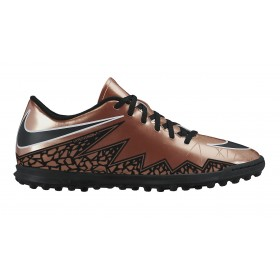 NIKE ( Adult ) HYPERVENOM PHADE II TF Brown-Chrome, jalkapallokenkä