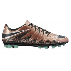 NIKE ( Adult ) HYPERVENOM PHATAL II AG-R Brown-Chrome