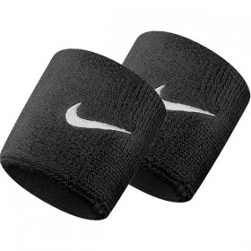 NIKE SWOOSH WRISTBAND Black-White
