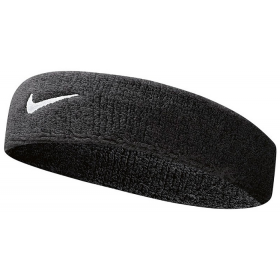 NIKE SWOOSH HEADBAND Black-White